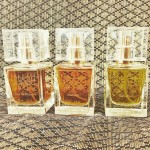 Our first three fragrances